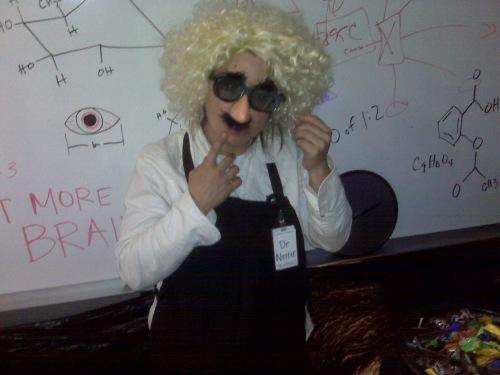 Wendy Fox -- aka, Dr. Nutter